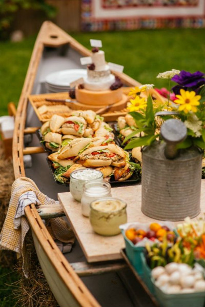 Canoe Wedding Grazing Table